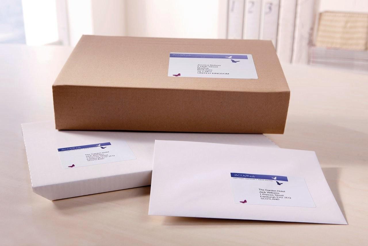 Etiquetas de envío para cajas | J8165-25 | Avery