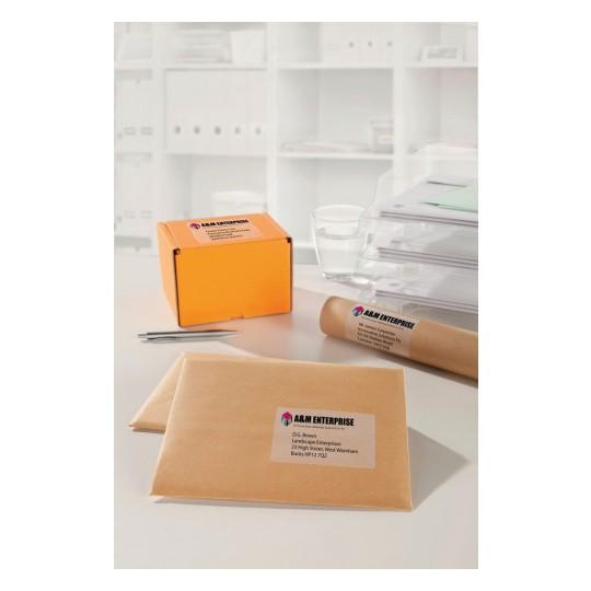 Etiqueta ultrabrillante para impresi/ón l/áser a color Avery L7767 40 unidades
